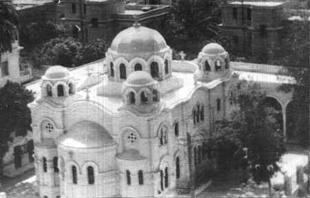 Virgin Mary Coptic Orthodox Church in Zeitoun, Cairo, Egypt